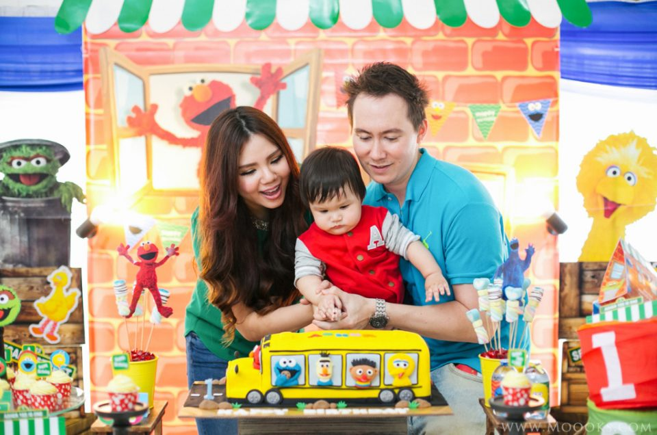 Asher 1st Birthday Party